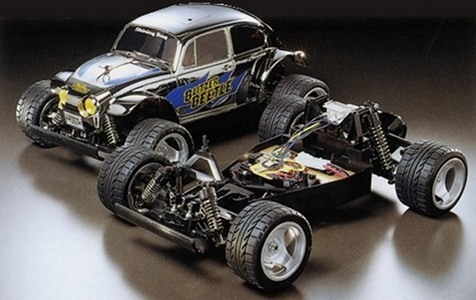Tamiya 58252 Blitzer Beetle Chrome Metallic