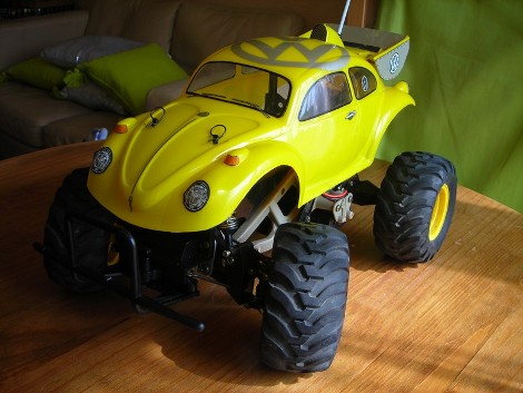 Beetle Frog Project Parts