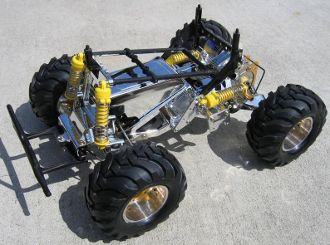 Metal plated Blackfoot Chassis