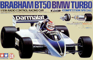 Tamiya 58031 Brabham BT50 BMW Turbo (CS)