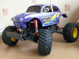 Tamiya 58192 King Blackfoot with Monster Beetle bodyshell