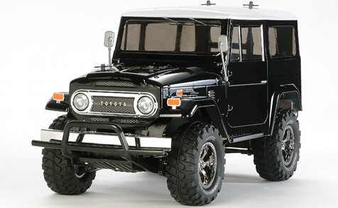 Tamiya 58564 Toyota Land Cruiser 40 Black Edition