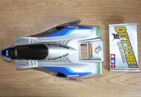 Tamiya 58087 Manta Ray as arrived
