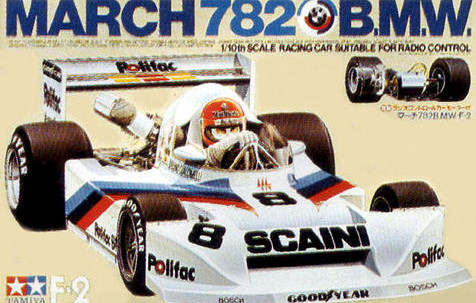 Tamiya 58013 March 782 BMW Boxart