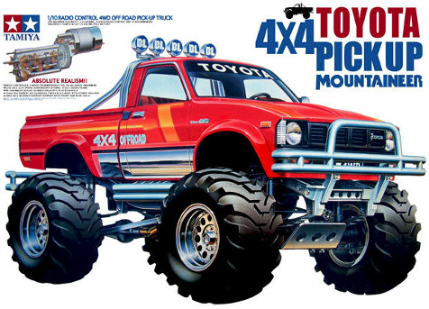 Tamiya 58111 Toyota 4x4 Pick Up Mountaineer Boxart
