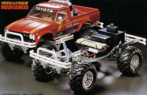 Tamiya 58111 Toyota 4x4 Pickup Mountaineer