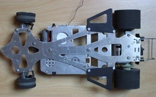 Tamiya first F1 chassis
