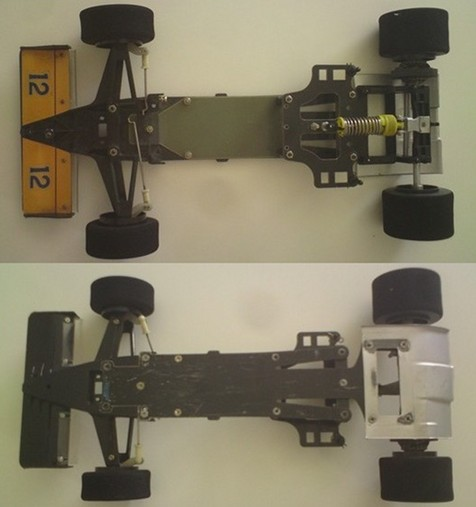 Tamiya 58068 Lotus Honda 99T - 58069 Williams FW11B chassis