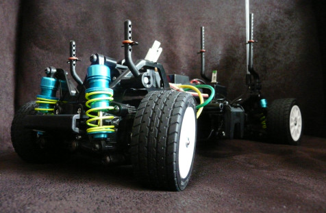 Tamiya 58368 Suzuki Swift Super 1600 M03 chassis