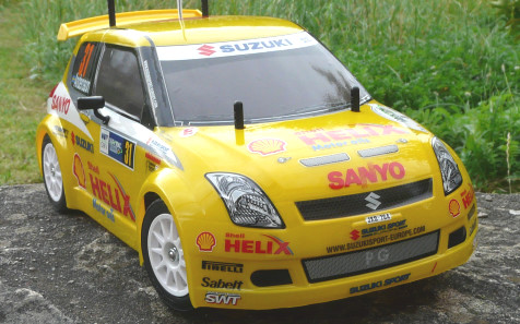 Tamiya 58368 Suzuki Swift Super 1600