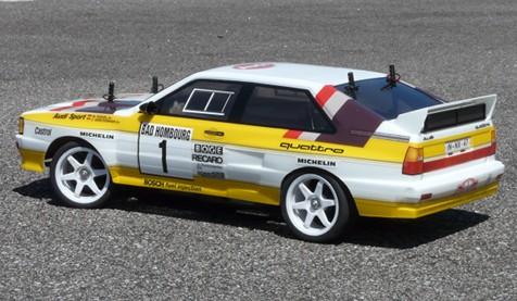 Tamiya TAF Audi Quattro Tamiya RC Classics And Moderns By Black - Audi is6