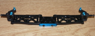 Tamiya 42167 TRF201 Chassis Front
