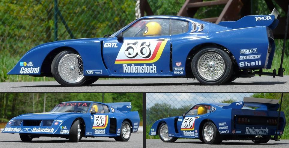 Tamiya Toyota Celica LB Turbo Group 5 Bodyshell on M-02 Super Short Chassis