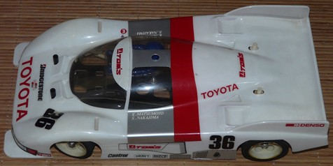 Tamiya 58049 Toyota Tom's 84C Racing Master Mk.6 as it arrived