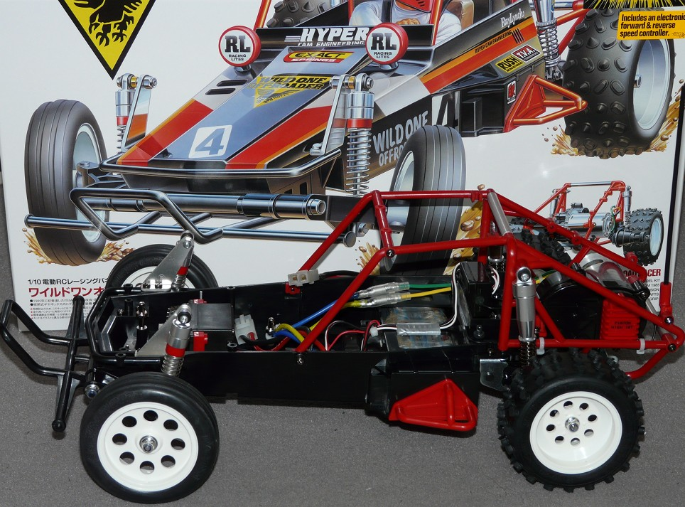 Tamiya 58525 Wild One Off Roader Chassis