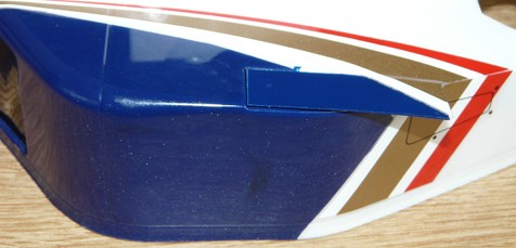 Tamiya 58179 Williams Renault FW18 bodyshell