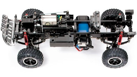 Tamiya 58472 Ford F350 High-Lift Chassis