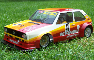 Tamiya RA-1225 VW Golf Racing Group 2