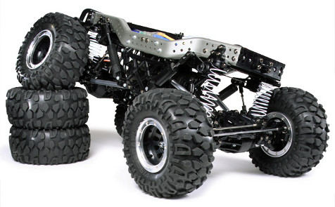 Tamiya CR-01 Chassis Suspension