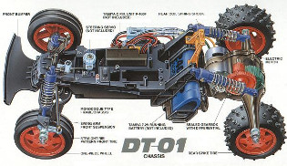 Tamiya DT-01 Chassis