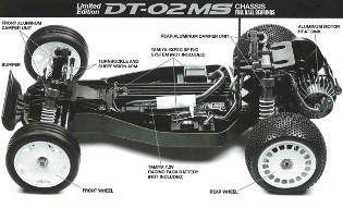 Tamiya 42475 DT-02MS Chassis Kit