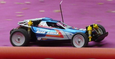 Tamiya 58093 Bear Hawk at the track