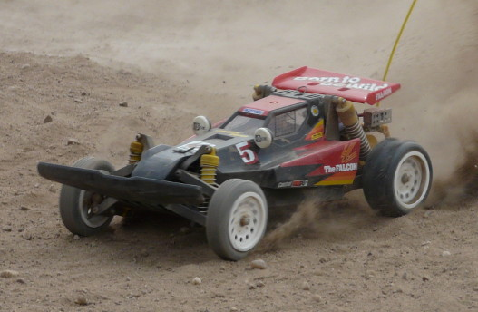 Tamiya 5856 The Falcon action shot
