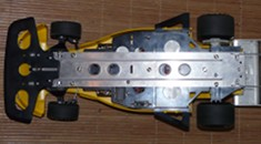 Tamiya RA-1014 Chassis bottom
