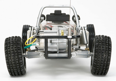 Tamiya SRB Chassis version 1 rear view