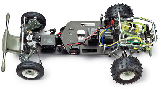 Tamiya SRB Chassis version 2