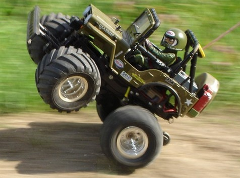Tamiya 58242 Wild Willy 2 Wheeling