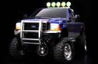 Tamiya 23643 Ford F350 High-Lift Full Operation Finished Blue