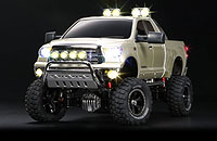 Tamiya 23663 Toyota Tundra High Lift Full Operation Finished Model Champagne Gold